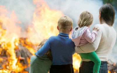 Get Out and Stay Out! Important Fire Safety Lessons