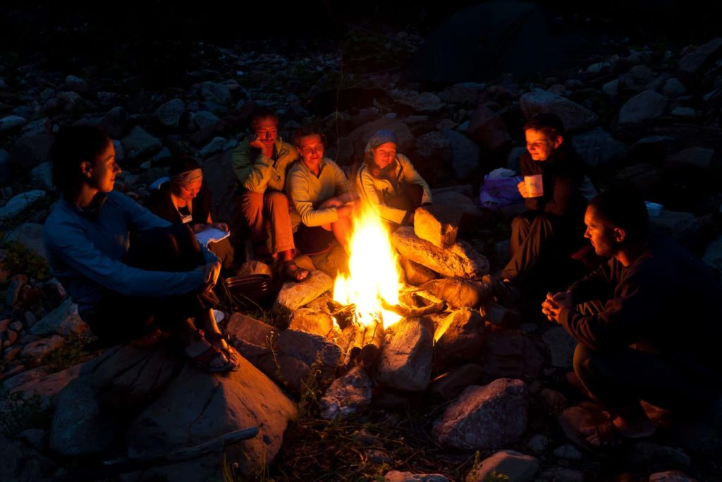 Proper Campfire safety